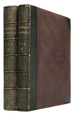 Lot 3 - Beattie (William). Switzerland, 2 volumes, 1836