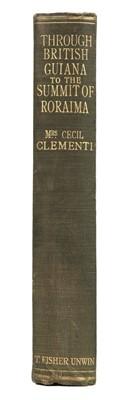 Lot 5 - Clementi (Mrs Cecil). Through British Guiana to the summit of Roraima, 1920