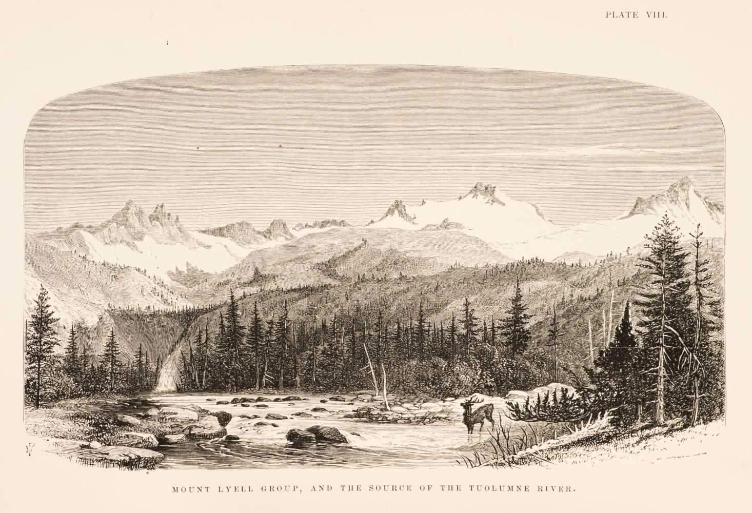 Lot 18 - Whitney (J.D.) The Yosemite Guide-Book, 2nd edition, 1869