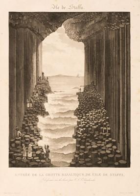 Lot 41 - Panckoucke (C.L.F.) L'Ille de Staffa et sa Grotte Basaltique, 1831