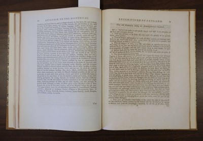 Lot 23 - Gifford (Thomas). An Historical Description of the Zetland Islands, 1786