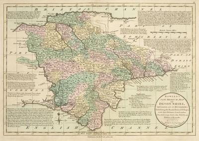 Lot 27 - Bowles (Carington, publisher). Bowles's New Medium English Atlas..., 1785