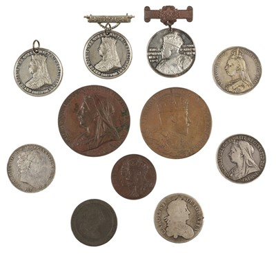 Lot 232 - Coins. Charles II and later