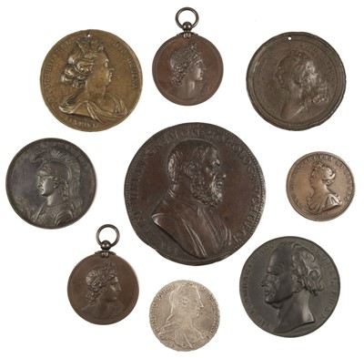 Lot 237 - Medals. Mixed collection of bronze and copper medals