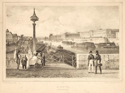 Lot 4 - Benoist (Philippe & Jacottet, Julien). Nouvelles Vues de Paris, Paris: Gihaut Frères, circa 1845