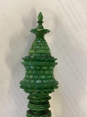 Lot 252 - Chess. An Indian ivory 'Pepys' chess set circa 1820