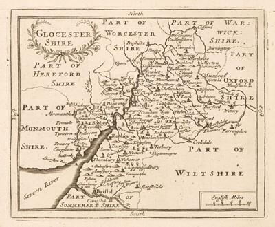 Lot 31 - Camden (William). Camden's Brittania Abridge'd with Improvements, 1701