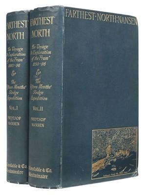 Lot 19 - Nansen (Fridtjof). Farthest North, 2 volumes, 1st edition, 1897