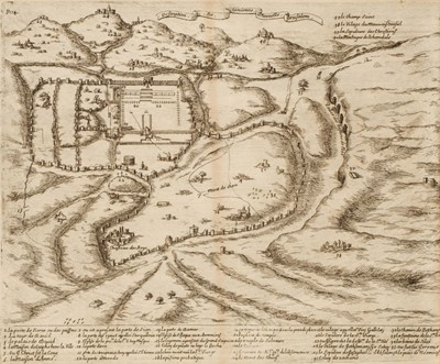 Lot 12 - Goujon (Jacques). Histoire et Voyage de la Terre-Sainte, 2nd edition, 1671