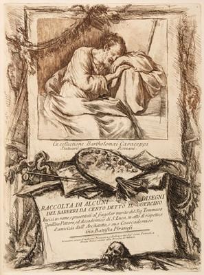 Lot 46 - Guercino (Giovanni Francesco, 1591-1666). Racolta di alcuni disegni, 1764