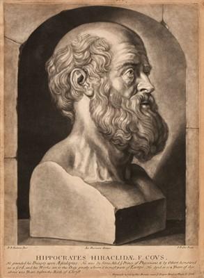 Lot 41 - Faber (John, 1684-1756). Hippocrates Hiraclideae, circa 1720-25