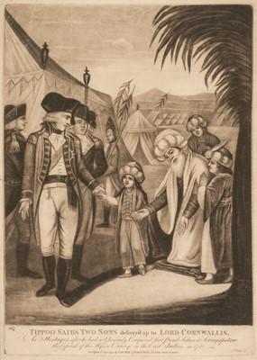 Lot 48 - Laurie (Robert, circa 1755-1836). Tippoo Saib's Two Sons