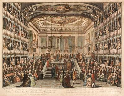 Lot 32 - Baratta (Antonio, 1724-1787). Dessein du Spectacle..., 1782