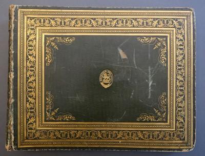 Lot 75 - Scotland. Album of 79 watercolours after William Daniell's Voyage Round Great Britain, circa 1830