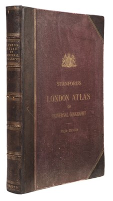 Lot 33 - Stanford (Edward, publisher). Stanford's London Atlas of Universal Geography, 1894