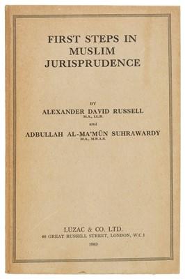 Lot 48 - Abi Zayd (Ibn). First Steps in Muslim Jurisprudence, 1963