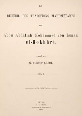 Lot 46 - Le Recueil Des Traditions Mahométanes, Leyde: E.J. Brill, 1862-1908