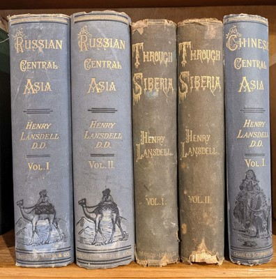 Lot 14 - Lansdell (Henry). Russian Central Asia, 2 vols., 1st US ed., 1885