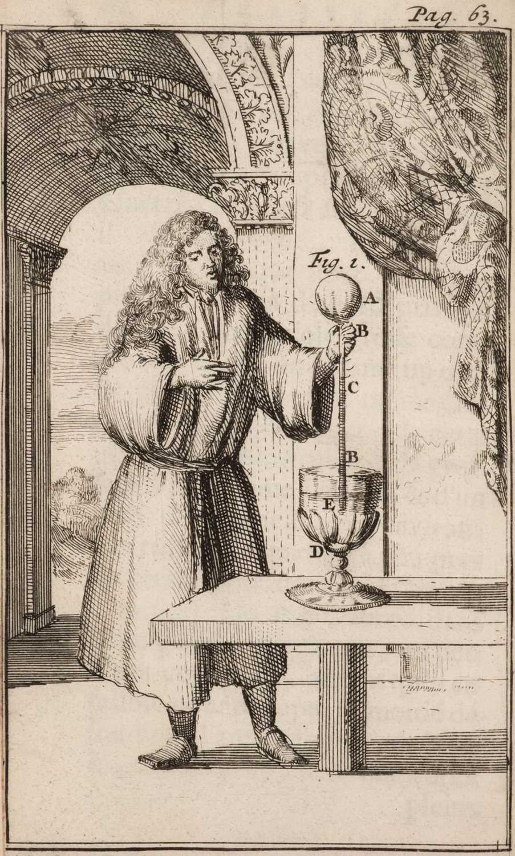Lot 213 - Dalence (Joachim). Traittez des Barometres,... , 1st edition, Amsterdam: Henry Wetstein, 1688