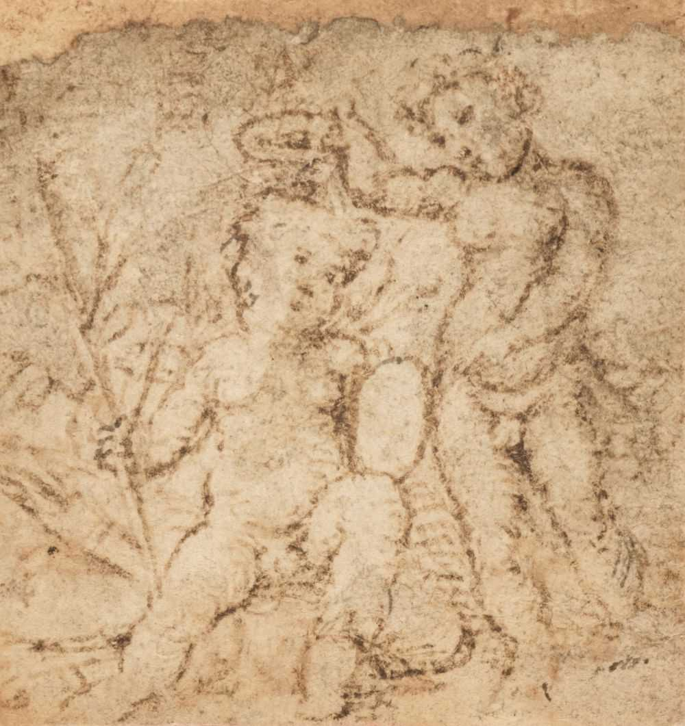 Lot 9 - Raphael Sanzio (da Urbino, 1483-1520). Infant Saint John baptising...