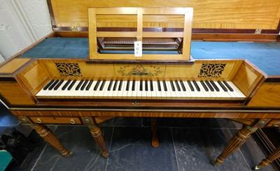 Lot 353 - Square piano.  William Henry Edwards, c.1830