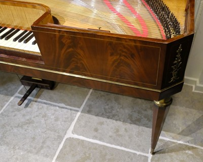 Lot 354 - Square piano. Van der Does of Amsterdam, c. 1820s