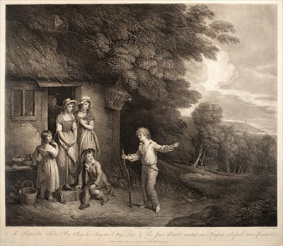 Lot 29-Bigg (William Redmore, 1755-1828). Pair of engravings, late 18th century