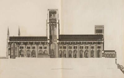 Lot 17-Carter (John). [Four works from the Society of Antiquaries' Cathedrals Series], 1797-1807