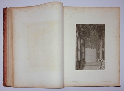 Lot 17 - Carter (John). [Four works from the Society of Antiquaries' Cathedrals Series], 1797-1807