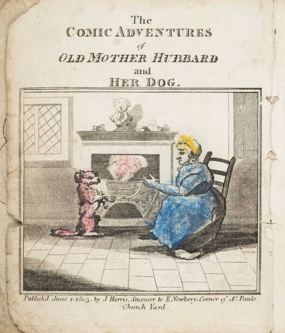 Lot 567-Martin (Sarah Catherine). The Comic Adventures of Old Mother Hubbard. 1st edition, 1805