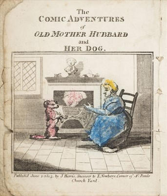 Lot 567 - Martin (Sarah Catherine). The Comic Adventures of Old Mother Hubbard. 1st edition, 1805
