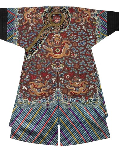 402 - Chinese Dragon Robe.