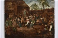 Lot 13-Flemish School.