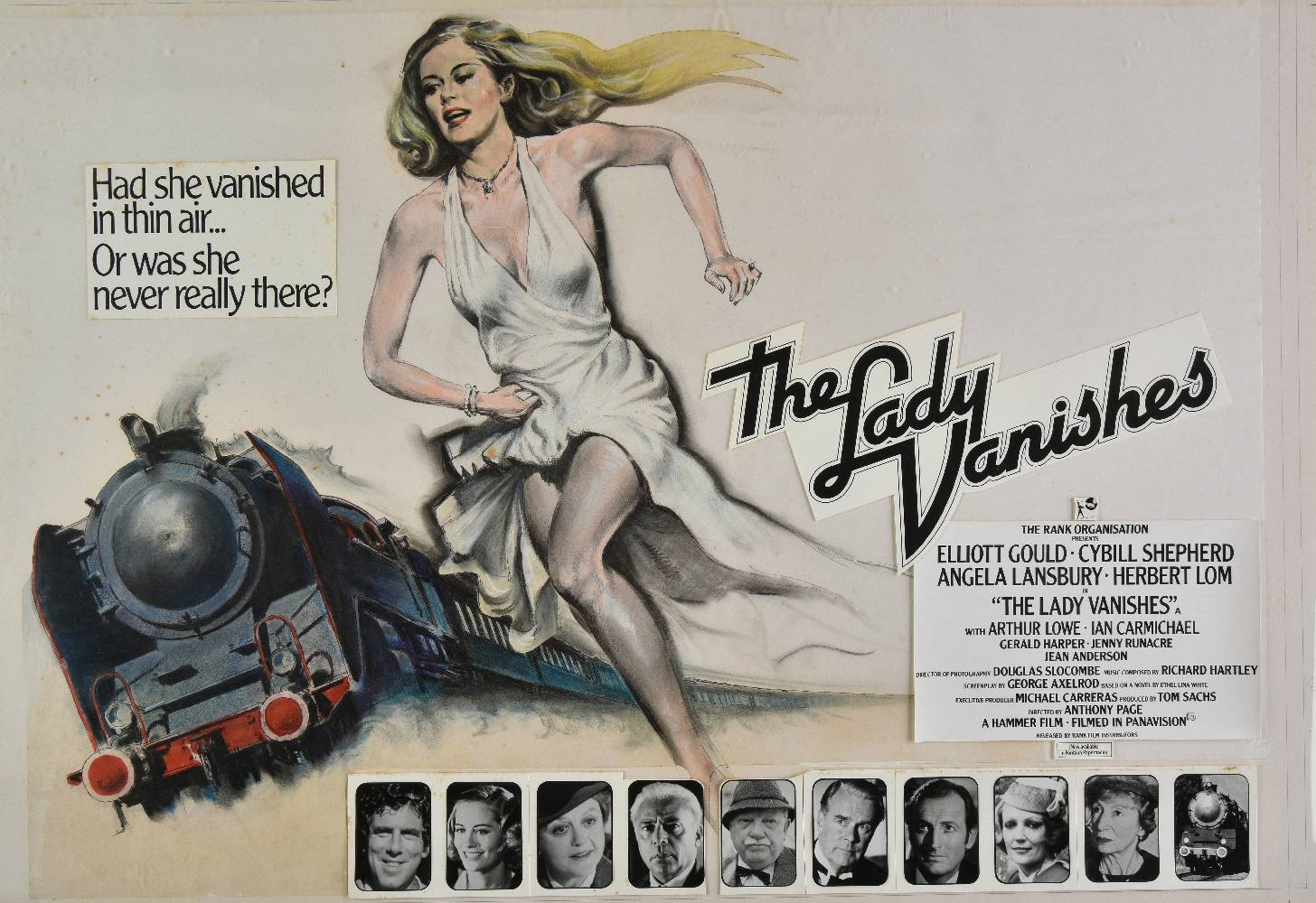 Image result for The lady vanishes film poster 1979